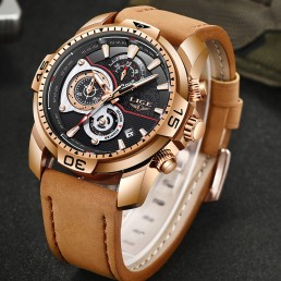 Кафяв часовник Lige