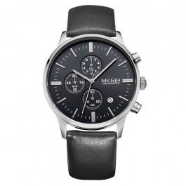 Мъжки елегантен водоустойчив часовник Megir