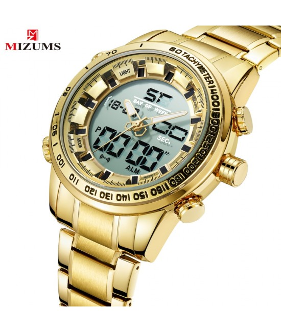 Мъжки метален часовника Mizums