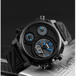 Мъжки часовник с три циферблата Skmei